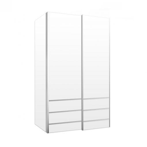 תוספת ארון הזזה אגם 2 דלתות | Design2Easy YS-93
