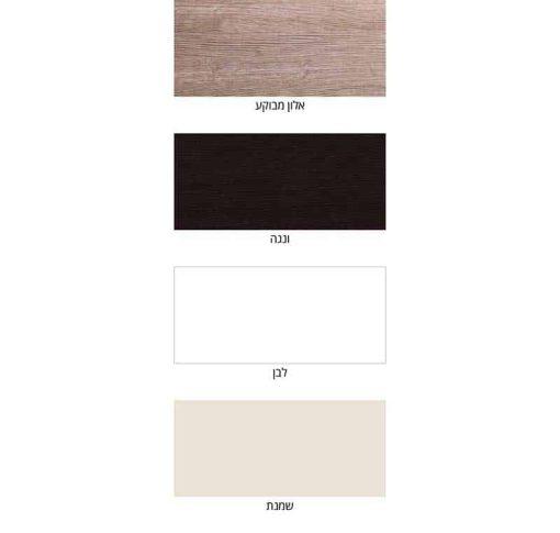 אופציות לבחירת צבע לארון