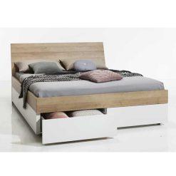 מיטה יוקרתית כוללת מגירות תוצרת איטליה