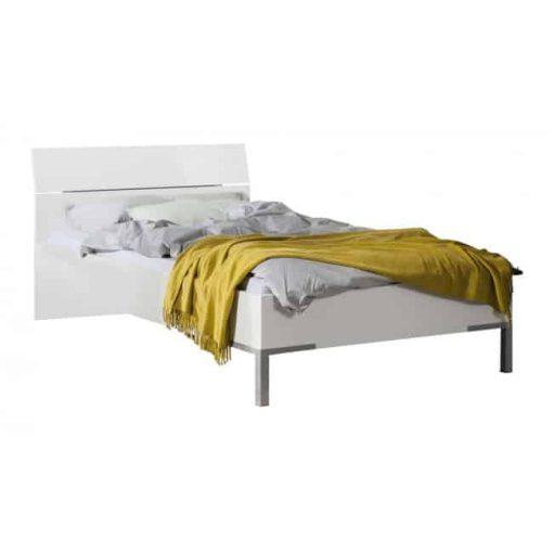 מיטה יוקרתית ברוחב 120 לבן