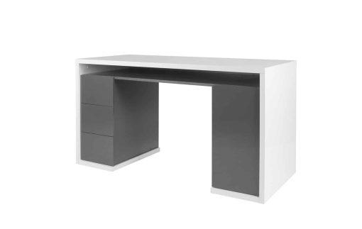 שולחן מדגם אסף לבן בשילוב
