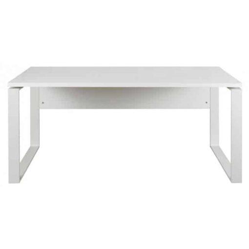 שולחן מחשב לבן