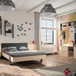מיטה GAMI שחורה